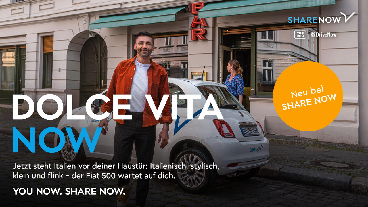 SHARE NOW – FIAT 500