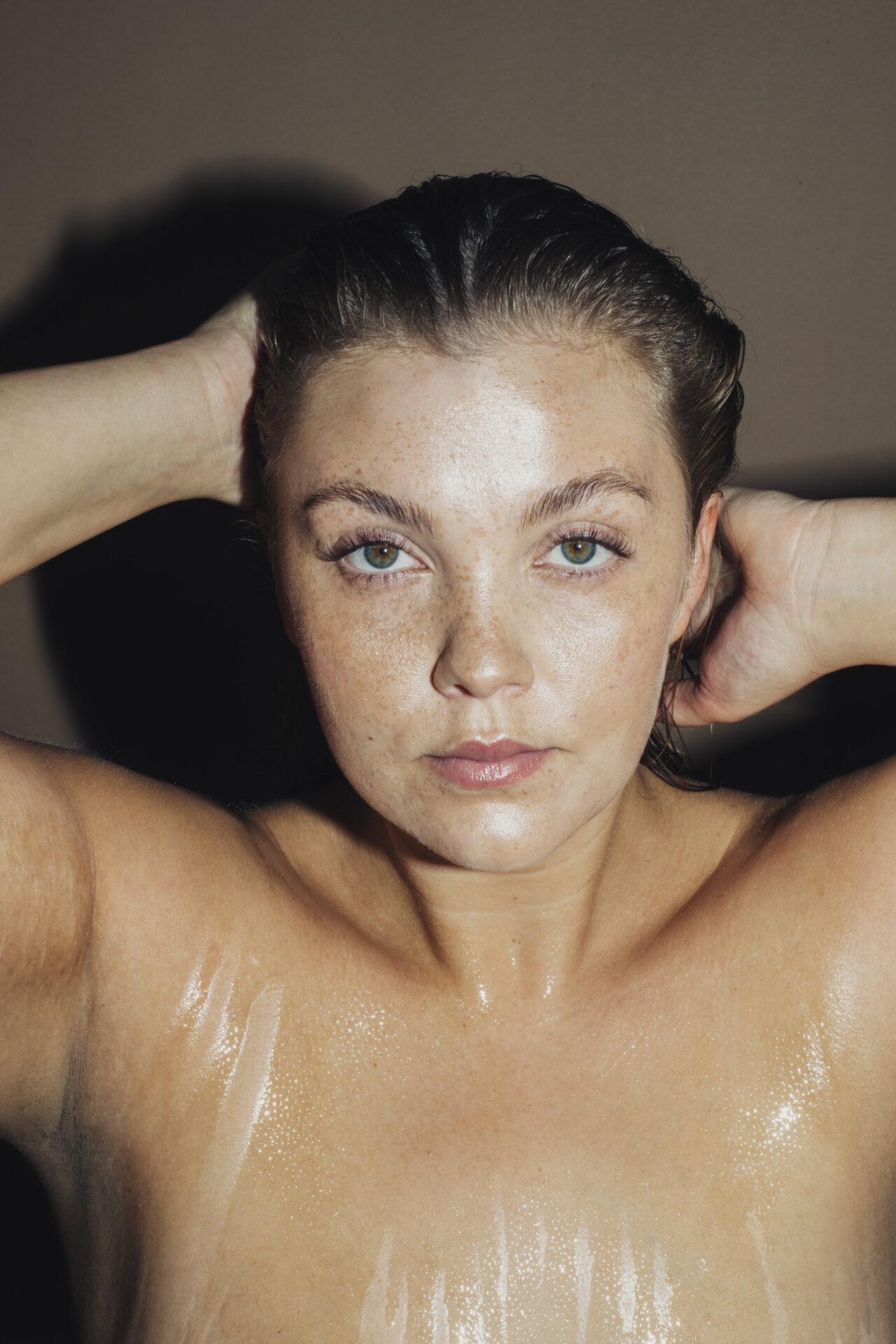 Curvy Magazine Beauty Editorial